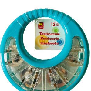 Tamburin barnrytmik 20 cm